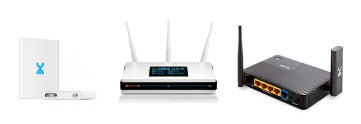 many-types-routers