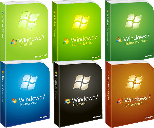 Версии Windows 7